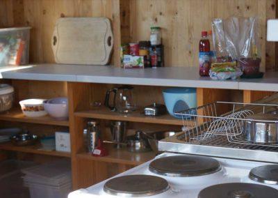 Benützung der Sommerküche für Selbstversorger (Kühlschrank, Geschirr, Herd vorhanden)